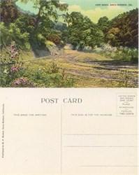 Postcard from Hope Ranch, Santa Barbara, California