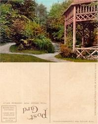 Postcard from Kinnear Park Seattle, Washington (Gazebo) 1915