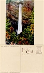 Postcard from Latourelle Falls, Columbia River