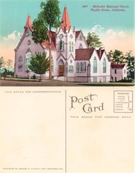 Postcard from the Methodist Episcopal Church, Pacific Groove, California