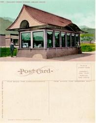 Postcard from the Permanent Exhibit Building, Ashland, Oregon