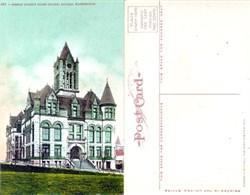 Postcard from Pierce County Court House Tacoma, Washington