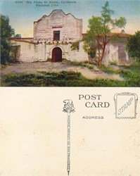 Postcard from the San Diego de Alcala, California