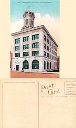 Postcard from the Santa Rosa Bank, Santa Rosa, California