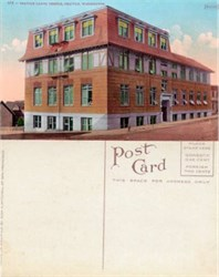 Postcard from the Seattle Labor Temple Seattle, Washington 1910