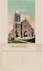 Postcard from St. Patrick's Church Tacoma, Washington 1910