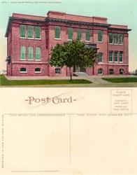 Postcard from Union High School, Red Bluff, California