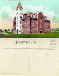 Postcard from Wahington High School Olympia, Washington