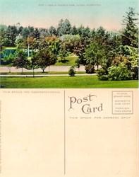 Postcard from Wright's Park Tacoma, Washington