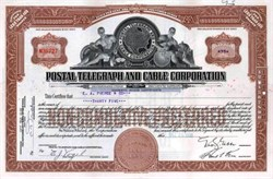 Postal Telegraph and Cable Corporation - Maryland 1938