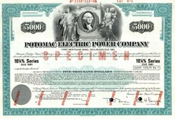 Potomac Electric Power Company - 1978 ( Now Pepco )