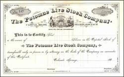 Potomac Live Stock Company 188X - Colorado Springs