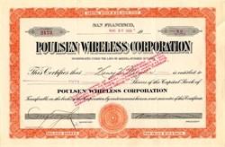Poulsen Wirelesss Corporation - Arizona 1919