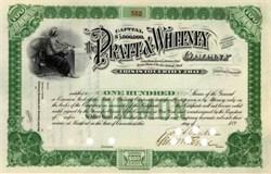 Pratt & Whitney Company 1890's signed by Francis Pratt SCARCE