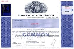 Prime Capital Corporation - British Columbia, Canada