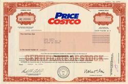 Price Costco - Delaware 1994