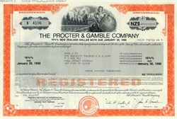 Procter & Gamble Company - 1987 $100,000 16 3/4% Interest Note