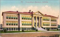 Primary School, Watsonville, California Postcard