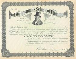 Professor William Emanuel's School of Chiropody