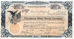 Providence Water Works Company 1907 - Utah