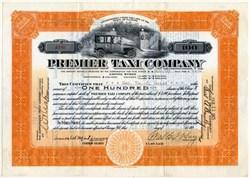 Premier Taxi Company - Illinois 1925