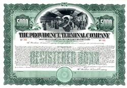 Providence Terminal Company - Rhode Island 1906