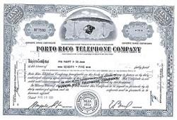 The Porto Rico Telephone Company in 1960's