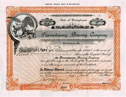 Punxsutawney Brewing Company (Home of Punxsutawney Phil) - Pennsylvania 1904