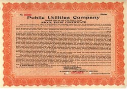 Public Utilities Company 1918 - Georgia