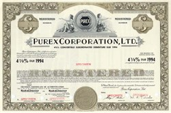 Purex Corporation, Ltd. - California