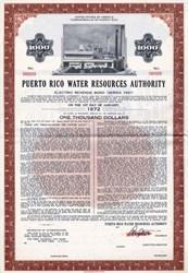 Puerto Rico Water Resources Authority - Puerto Rico 1961