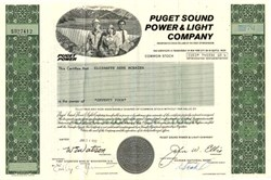 Puget Sound Power & Light Company - Washington 1982