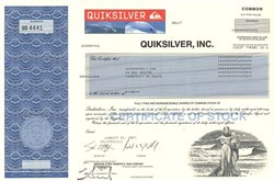 Quiksilver, Inc.(one of the world's largest manufacturers of surfwear) - Delaware