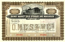 Quincy Market Cold Storage and Warehouse 1915 - Boston, Massachusettes
