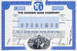 Quaker Oats Company - New Jersey 1985