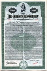 Quaker Oats Company (Quaker Man Vignette)  - 1944