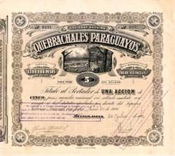 Quesbrachales Paraguayos - Buenos Aires 1906