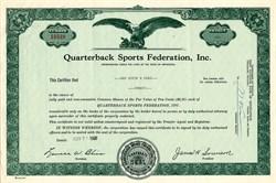 Quarterback Sports Federation, Inc. - Minnesota 1968