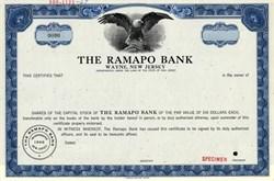 Ramapo Bank - Wayne, New Jersey 1967