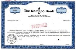 Ramapo Bank - Wayne, New Jersey 1969