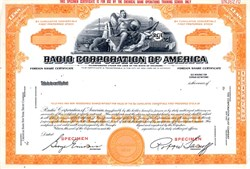 Radio Corporation of America - Delaware