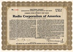 Radio Corporation of America - Delaware 1935
