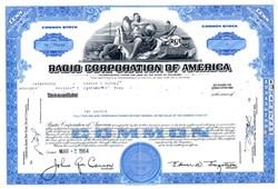 Radio Corporation of America - RCA -  Nipper the Dog in Vignette - Delaware 1964