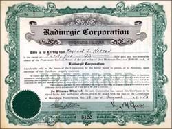 Radiurgic Corporation