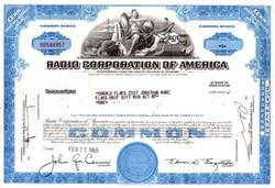 Radio Corporation of America - RCA -  Nipper the Dog in Vignette - 1967