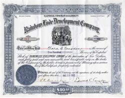Rainbow Lode Development Company - 1912