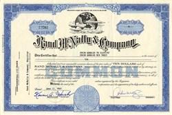 Rand McNally & Company - Delaware
