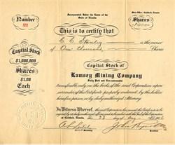 Ramsey Mining Company - Goldfield, Nevada 1906