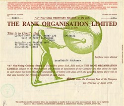 Rank Organisation Limited - London 1973