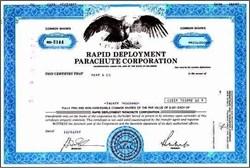 Rapid Deployment Parachute Corporation